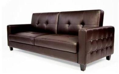 Ethical Decor Vegan Sofas Peta Leather Sofa Bed Sofa Sofa Bed Brown