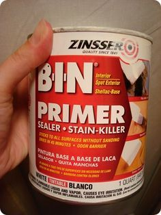 For the cabinets (NO SANDING PRIMER) Also a BIX TSP cabinet ...