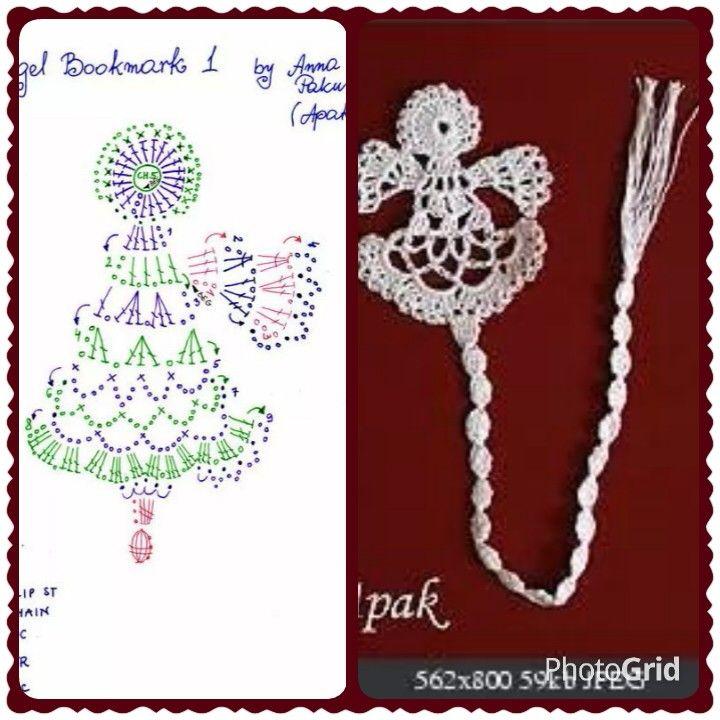Angelo | Crochet | Pinterest | Ángeles, Campanas navideñas y Navidad
