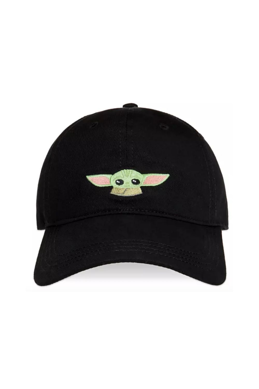 Star Wars The Mandalorian The Child Baby Yoda Adjustable hat Black