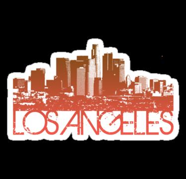 I Love La Los Angeles Skyline Tshirt Designs Shirt Designs