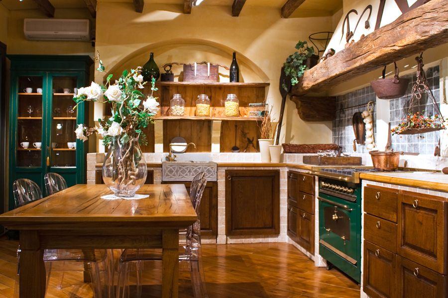 Cucine Rustiche In Muratura E Legno. Excellent Cucine In Muratura ...