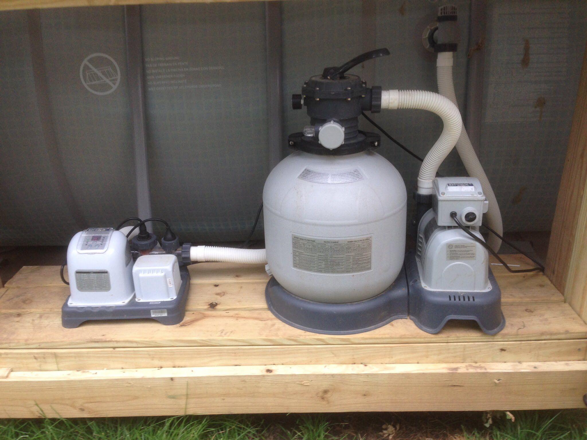 How To Backwash Intex Sand Filter Pool Plumbing Intex Pool