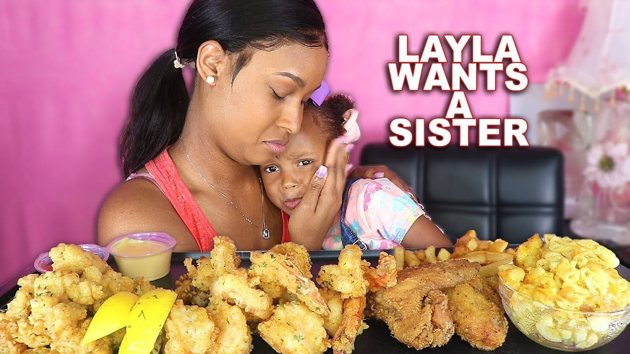 LAYLA WANT A BABY SISTER (FRIED SHRIMP, CONCH + MAC N CHEESE) SEAFOOD MUKBANG 먹방| QUEEN BEAST  LAYLA WANT A BABY SISTER (FRIED SHRIMP, CONCH + MAC N CHEESE) SEAFOOD MUKBANG 먹방| QUEEN BEAST � #baby #BEAST #Cheese #CONCH #Fried #LAYLA #Mac #MUKBANG #QUEEN #Seafood #Shrimp #SISTER #먹방