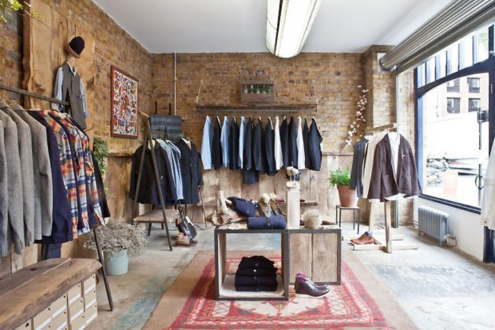 Anthem store by Fred Rigby London store design Johngrasher