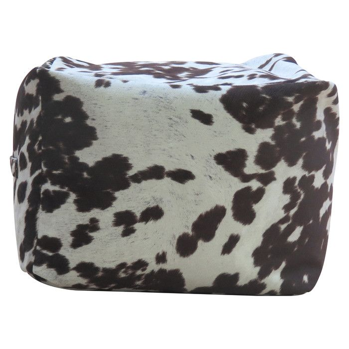 Fox Hill Trading Premiere Home Cowhide Pouf Footstool Ottoman Amp Reviews Wayfair Pouf Footstool Ottoman Luxury Living Room Decor