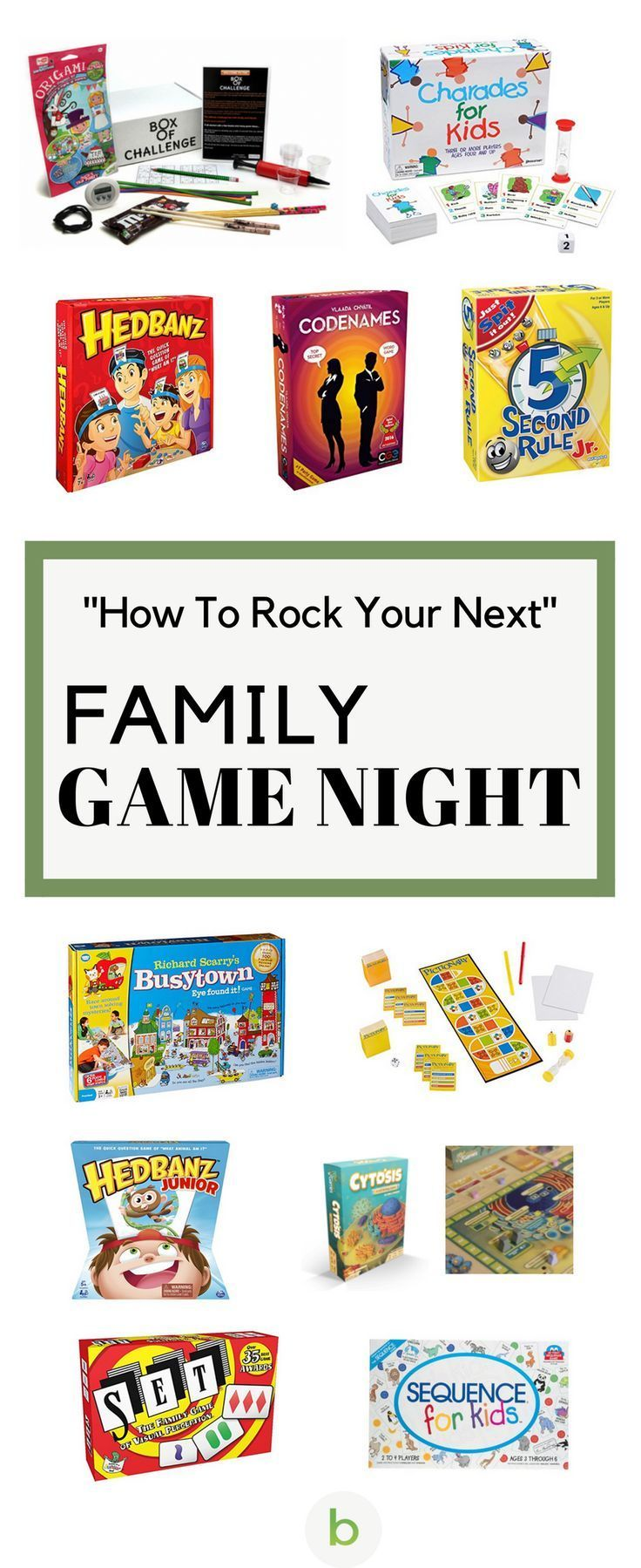 How To Rock Your Next Family Game Night | Family game night, Game ...