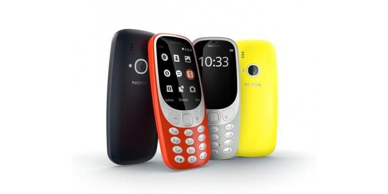 Torna il Nokia 3310, rivisto e colorato