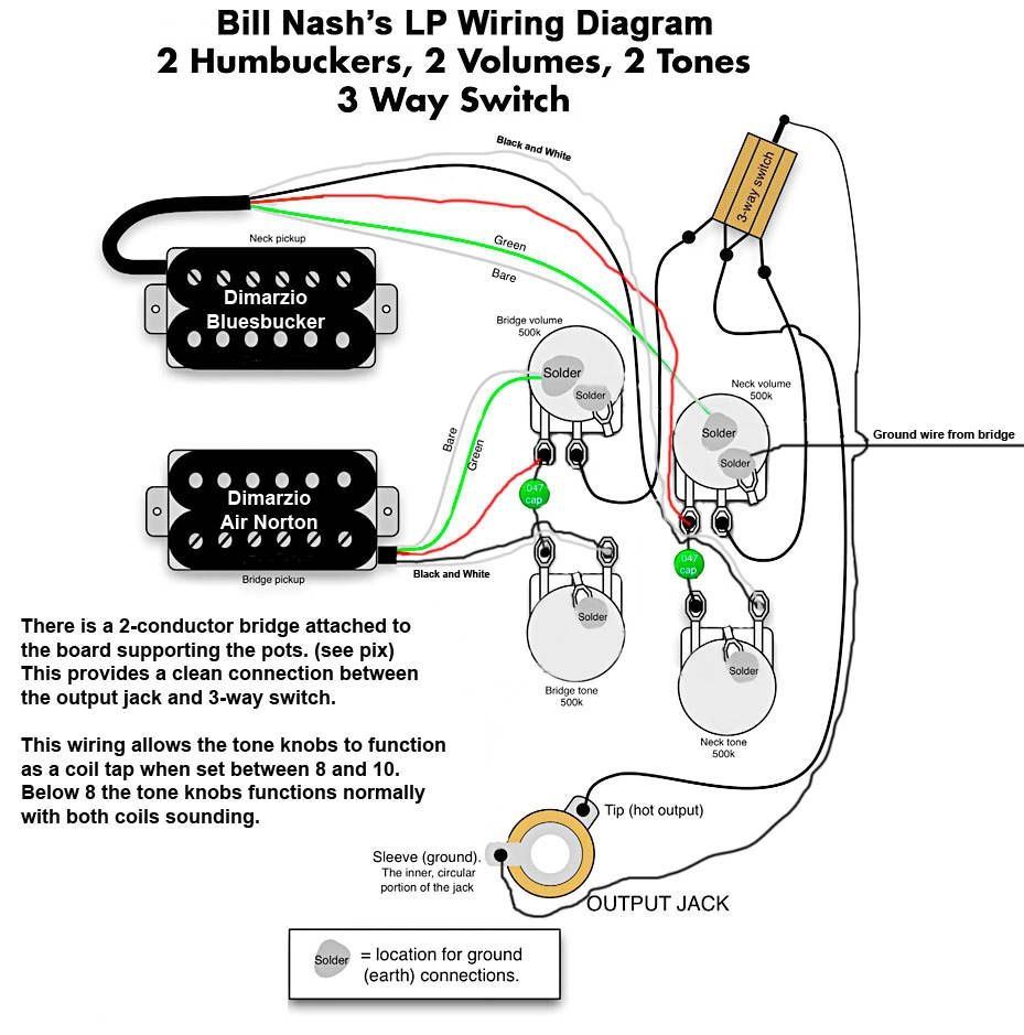 medium resolution of les paul custom 3 pickup wiring diagram