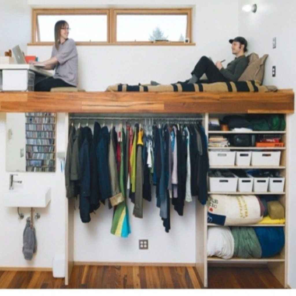 20+ Clever Small Apartment Hacks Organization Ideas ...