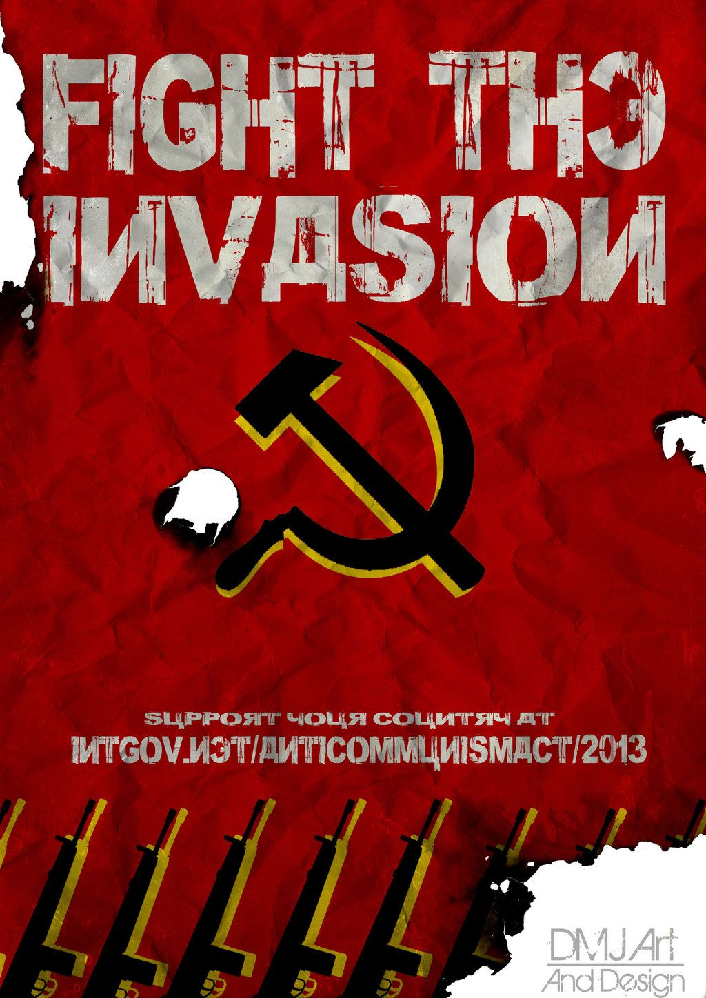 Anti-communism Poster by CHEMICAL5.deviantart.com on ...