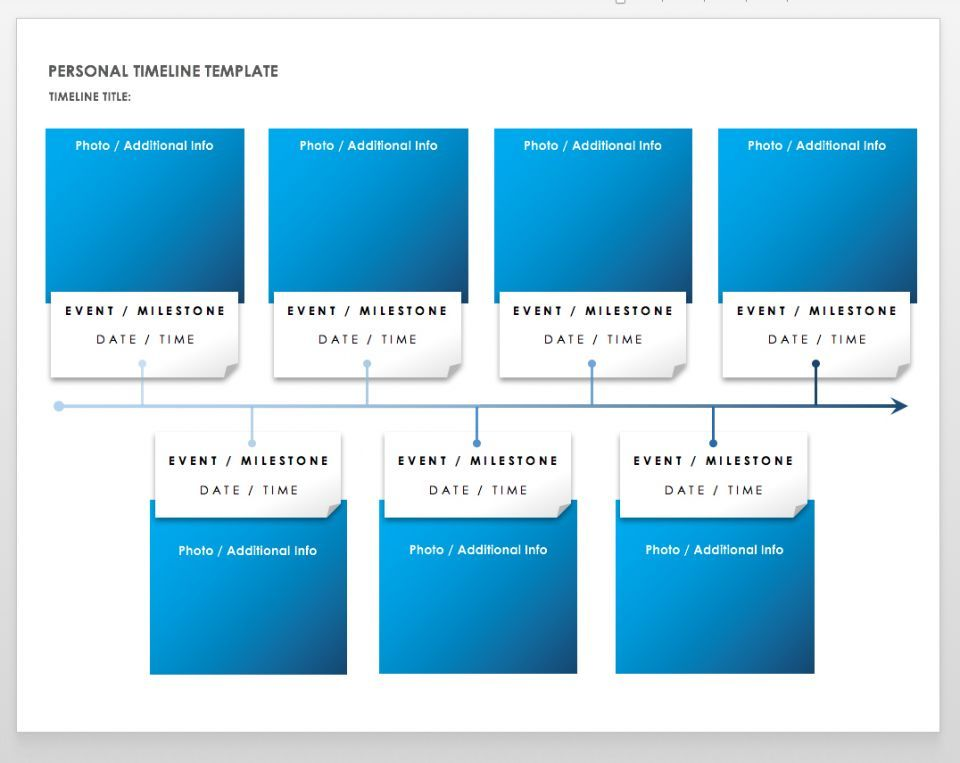 Free Blank Timeline Templates Personal Timeline Magazine Cover