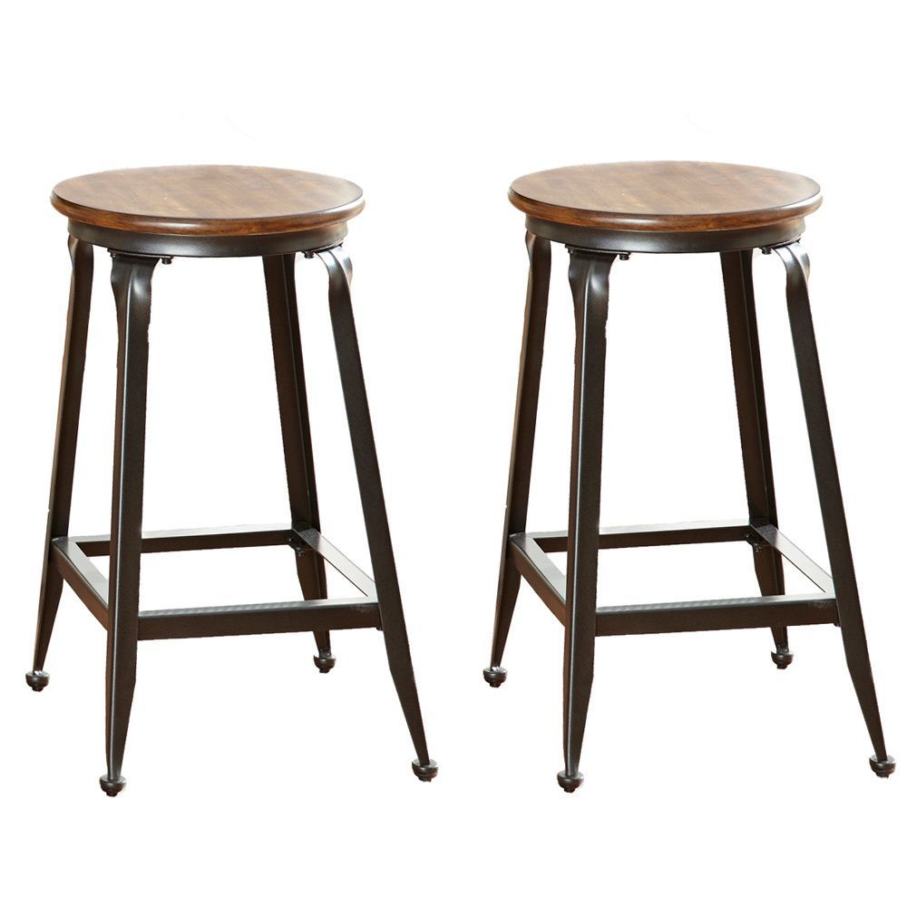 Sit Comfortably In These Counter Stools Featuring A