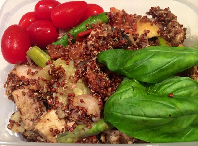 hambuguer peru quinoa