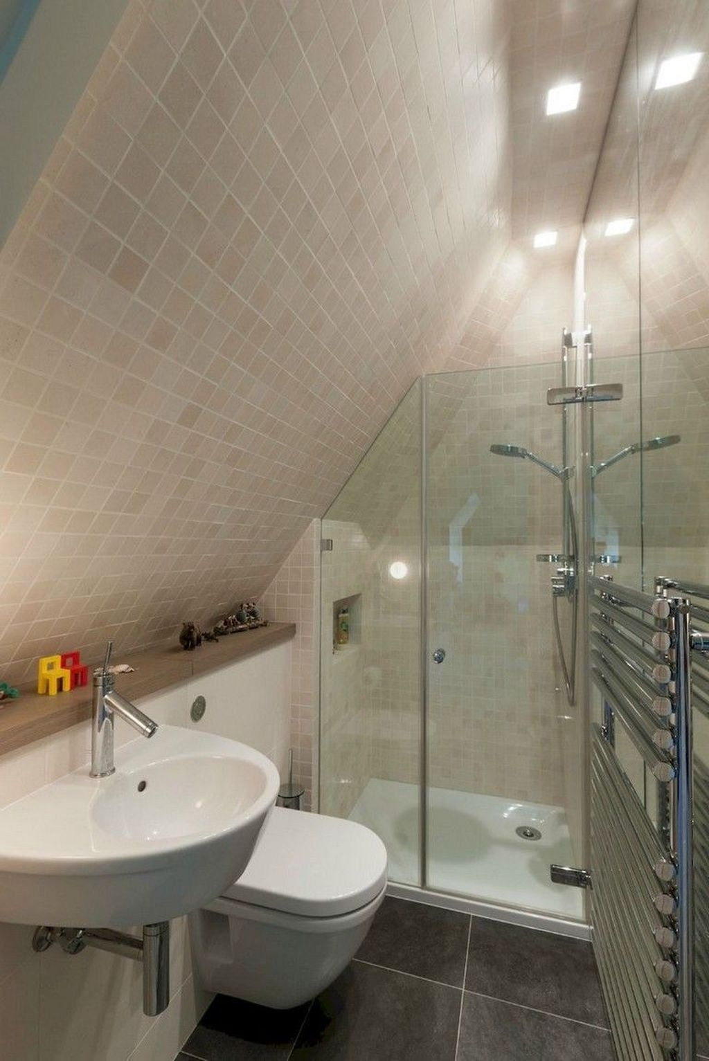 30 Modern Attic Bathroom Design Ideas Bathroom Design Small