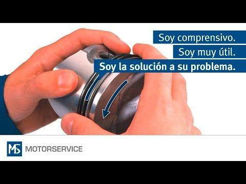 Montaje de segmentos de pistón - Motorservice Group - YouTube