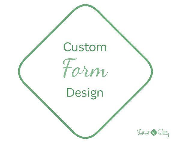 Custom Website Form Design and Install Questionnaire Survey - feedback survey template