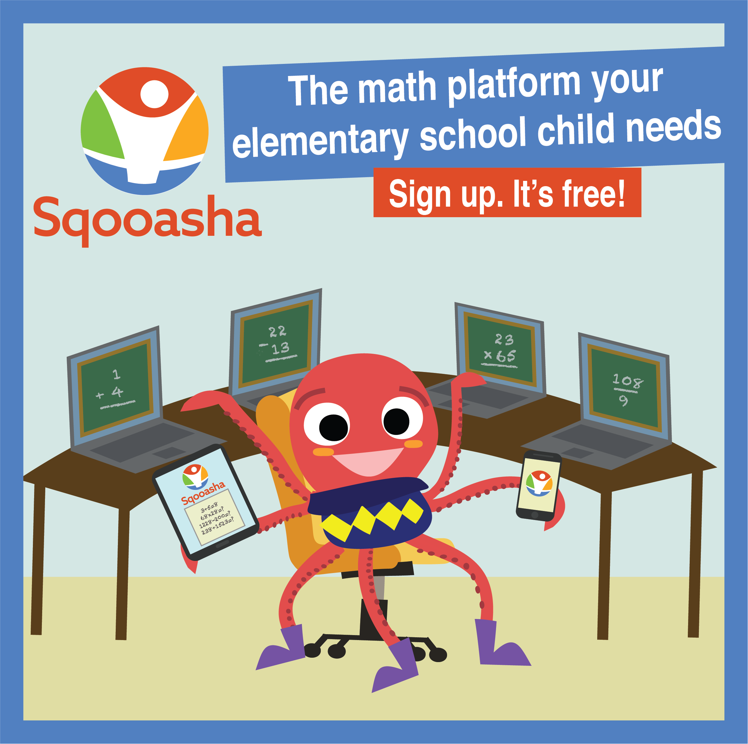 Free Elementary Math App For Friendly Competitions With