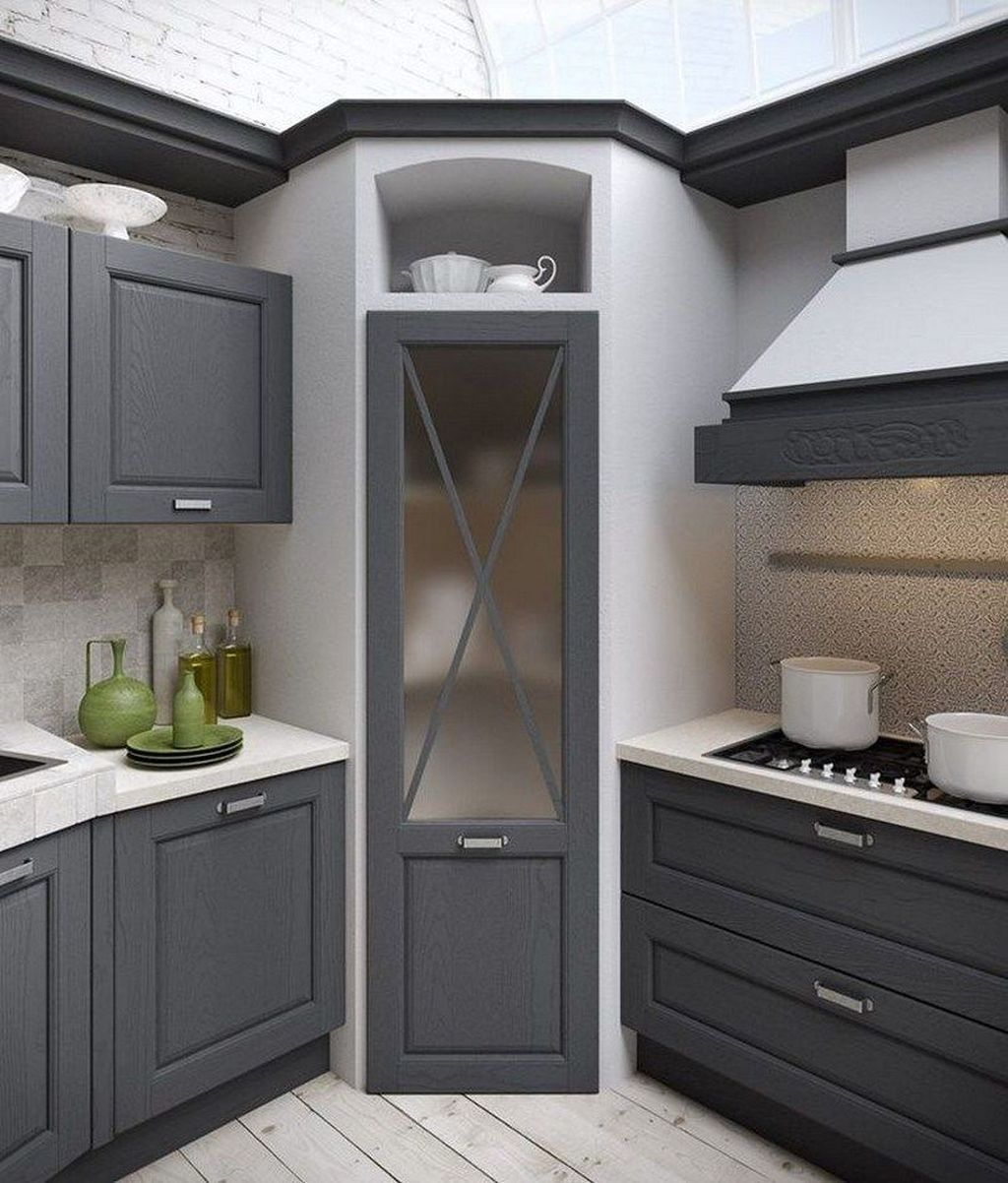 Small Kitchen Pantry: 39 Astonishing Small Kitchen Design Ideas That Remodel
