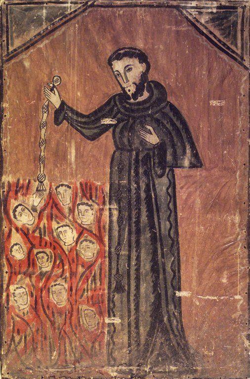 Brooklyn Museum, Saint François sauvant les âmes du Purgatoire