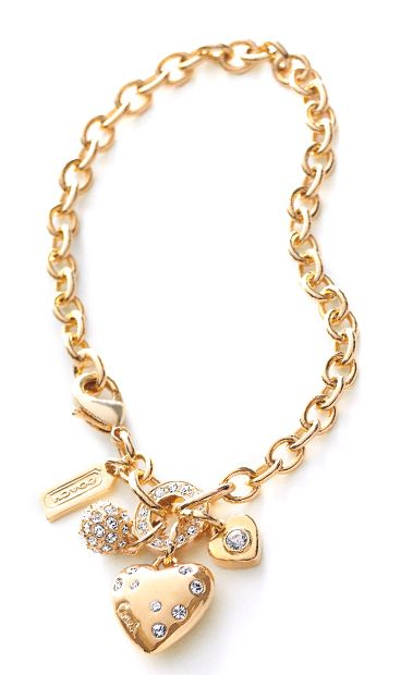 Coach Heart Charm Bracelet The Jewels Pinterest Heart Charm