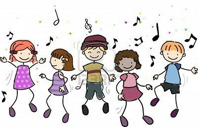 Resultado de imagen de gifs animados niños bailando