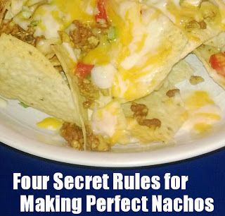 Four Secret Rules to Making Perfect Nachos at Home {Recipe} via @mapleleafmommy