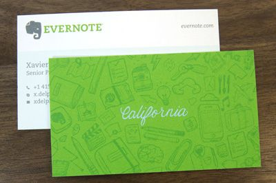 Evernote business cards design with idea to be created a different evernote business cards design with idea to be created a different reverse for the worldwide reheart Gallery