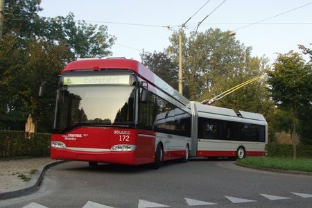 Solaris / Stadtbus Winterthur  erzielt gute Ergebnisse im Serivcequalität-Test. #Stadtbus #Solaris #Winterthur #CH.