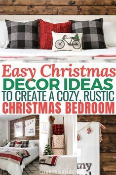 You HAVE TO check out these Christmas bedroom decor ideas! They're SO GOOD! I'm so glad I found thes... - #bedroom #check #christmas #decor #found #ideas #these - #BreakfastChristmasIdeas