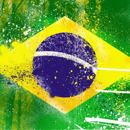 Grunge Brazil Flag Ipad Wallpaper Bandeira Do Brasil America