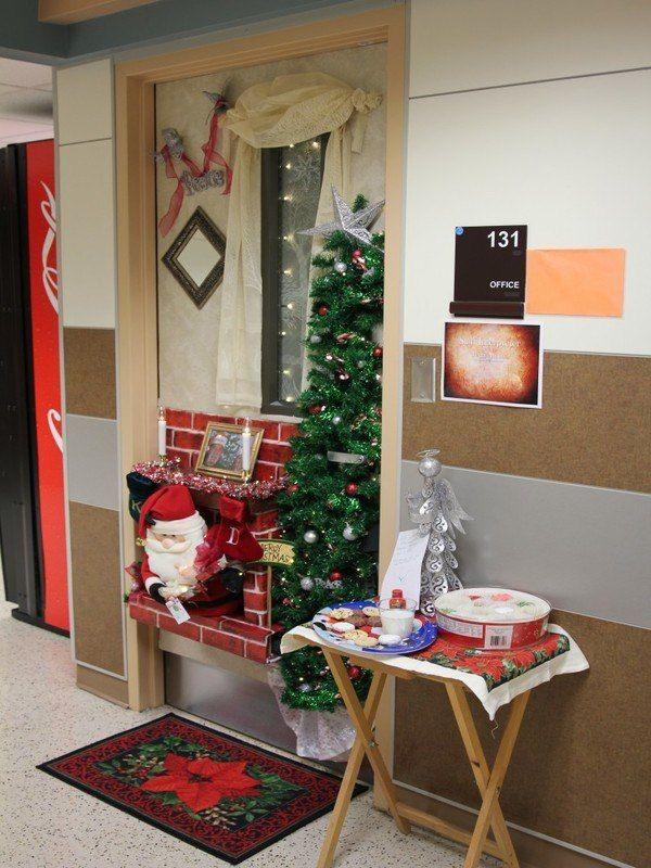 Creative Office Door Decorations Christmas Psoriasisguru Com