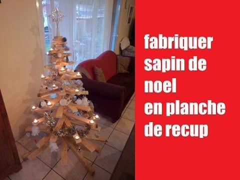 Bois De Recuperation Decoration diy] fabriquer sapin de noel en bois de recuperation / how to make a
