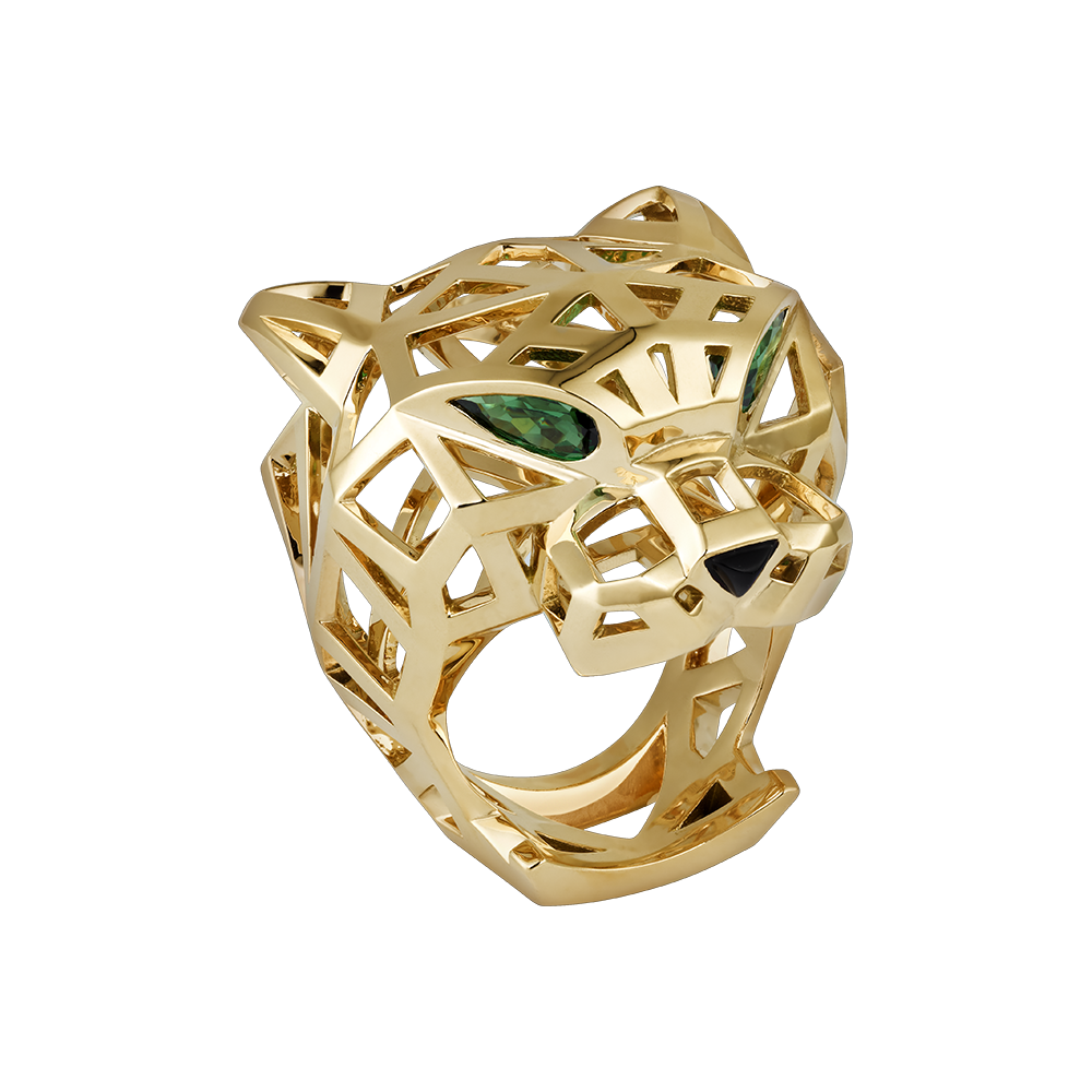 cartier ring lion