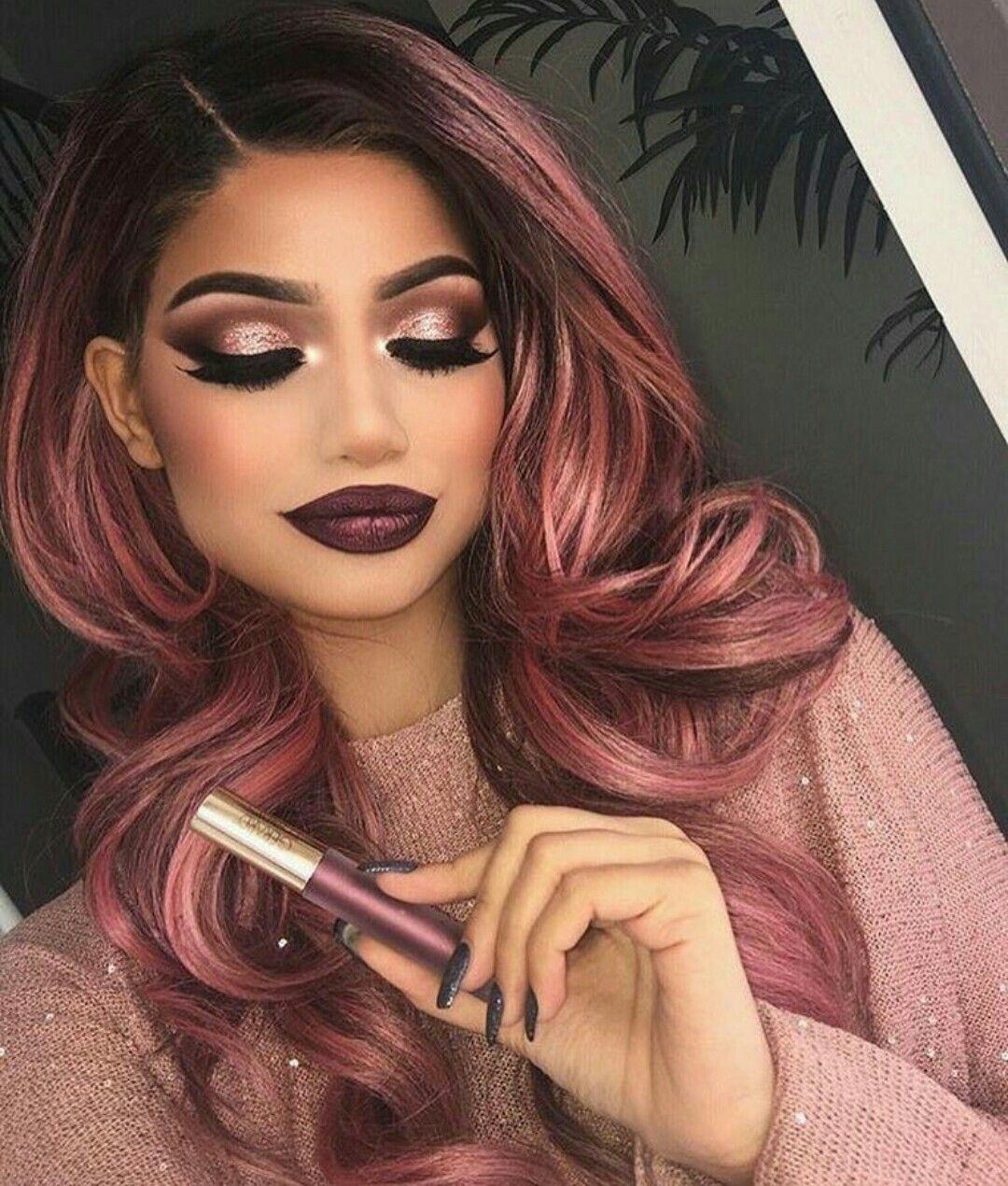 Image by Karen Paiz on Makeup Hair makeup