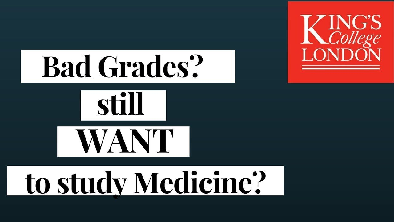 How to get into medicine without great grades youtube
