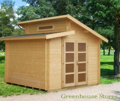 Palmako Dora Log Cabin From Greenhouse Stores With Free UK Home Delivery.  Http:/. Garden Shed KitsLog ...