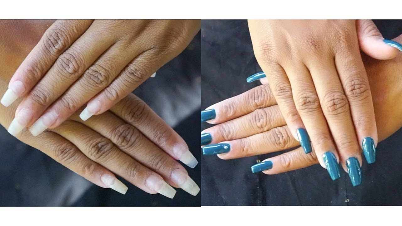 Easy Diy How To Refill And Fix Your Acrylic Nails Kiss Acrylic Nail Kit Youtube Acrylic Nail Kit Nail Kit Acrylic Nails