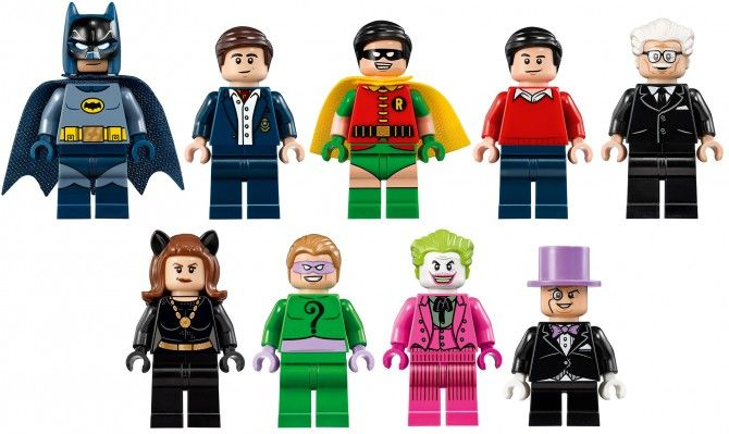 LEGO Batman 1966 Characters | Batman | Pinterest | Lego batman ...