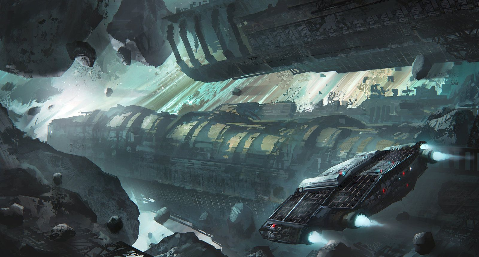 Exploring a strange sector by Tryingtofly.deviantart.com on @DeviantArt