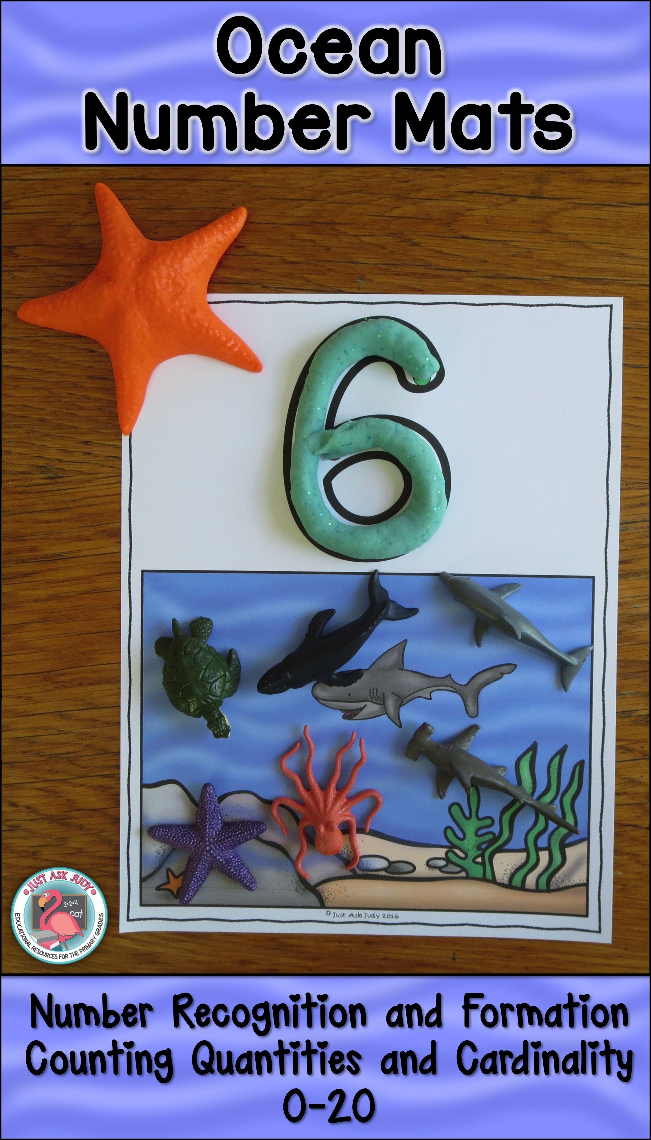 Number Mats 0 20 Ocean