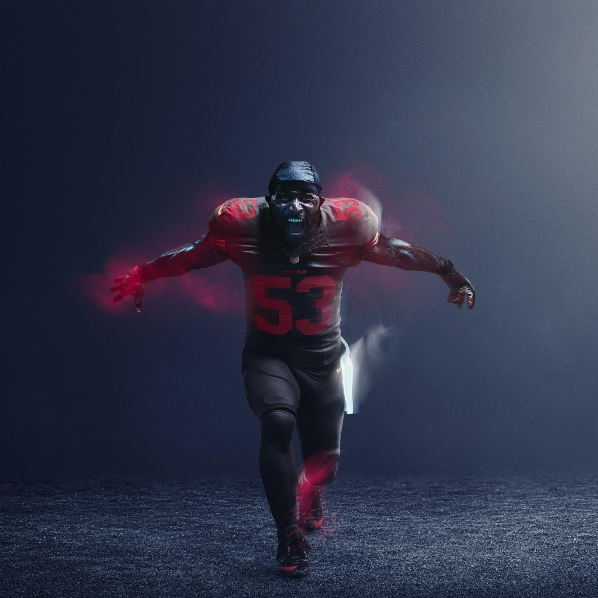 the latest d00c8 526db A Look At All 32 NFL Color Rush Uniforms | San francisco ...