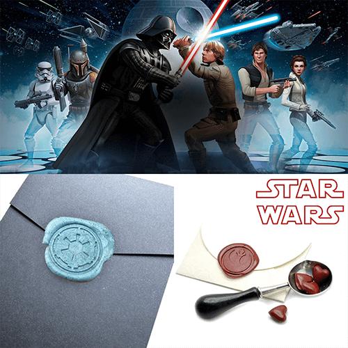 Star Wars Darth Wax seal Sticker