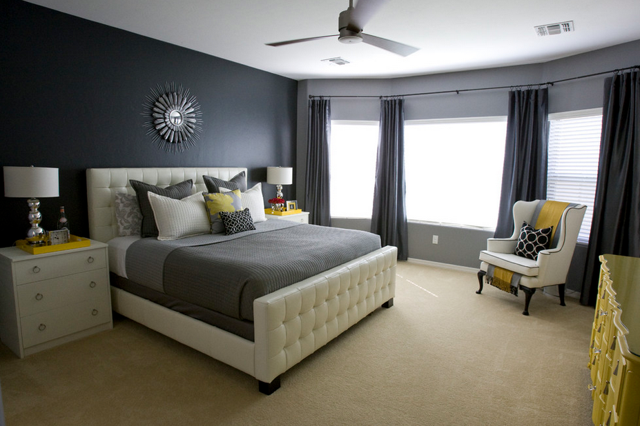 White And Grey Bedroom Ideas U2013 Transforming Your Boring Room Into Something  Special | Bedrooms, Gray Bedroom And Master Bedroom