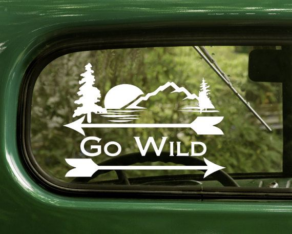 Movement Kayak Funny Sticker Car Window Door Laptop Vinyl Decal  Wall Art Decor