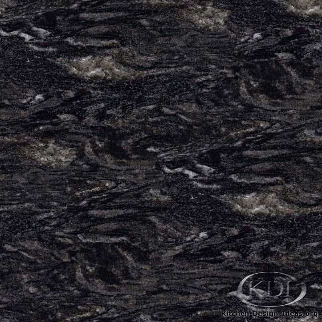 Granite Names Forest Black Granite Kitchen Countertop Ideas 05