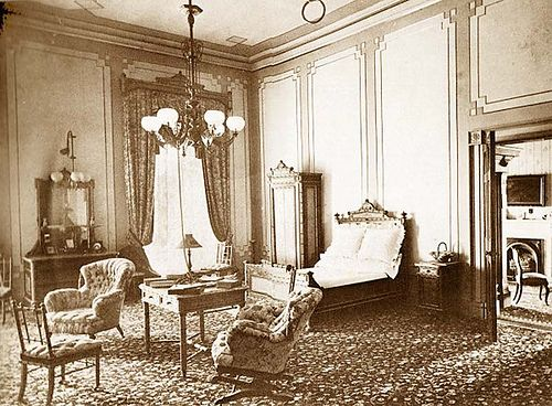 President Rutherford B. Hayes master bedroom White House ...