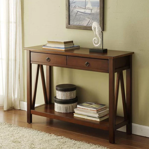 Soule 42 Console Table Wood Console Table Console Table Wood Console