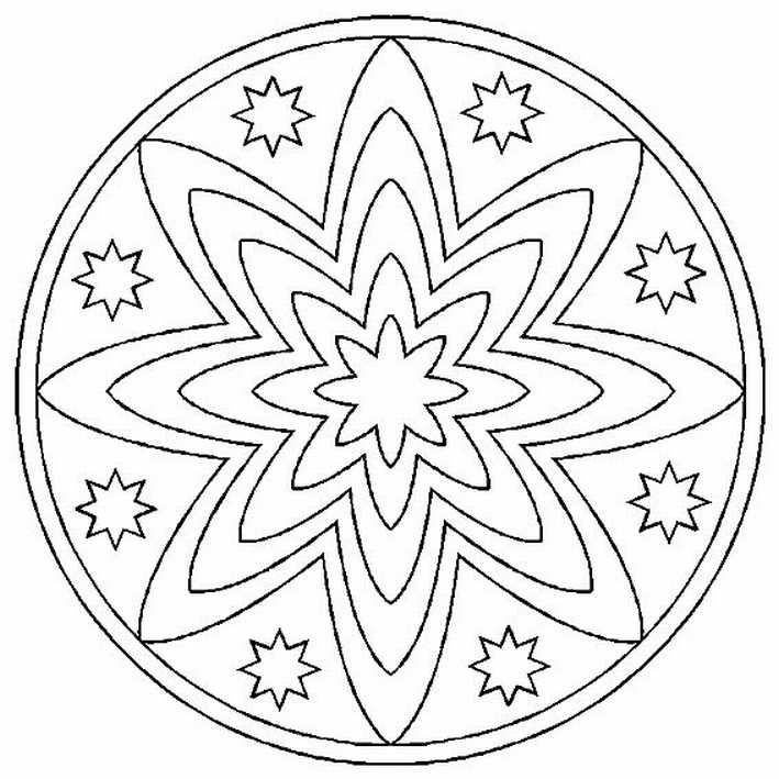 Mandalas Para Pintar MANDALAS Pinterest Mandalas, Mandala and