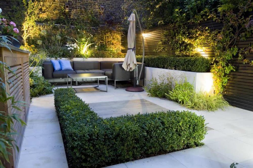 Small Patio Design Ideas Small Garden Lighting Ideas With Patio Fu Small Garden Landscape Design Small Urban Garden Design Modern Garden Design